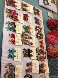 Showroom pendientes flamenca. Contacta conmigo en mjesusgalan@gmail.com