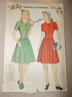 Pretty! This gives me some ideas for dresses I could make!