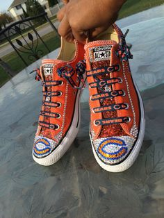 bf01df729537 Crystalized Converse-Genuine Swarovski by ShowUpandShowOut on Etsy Converse  All Star