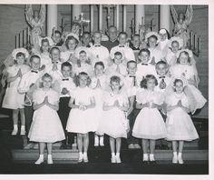 1959 First Communion photo