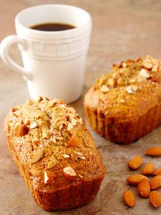 Unique Ways to Eat Almond Butter: Make this banana bread recipe.  #SelfMagazine