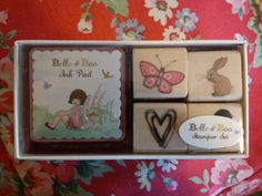 Belle and Boo stamp set :-) absolutely gorgeous even if it is for kids!