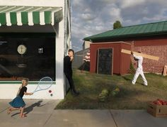 Julie Blackmon, Homegrown Food, 2012. Image courtesy of The Photographers' Gallery. Click above to see larger image.