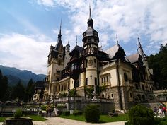 Peles Castle as it is today, perfectly preserved. Great architecture and worth visiting to see inside.