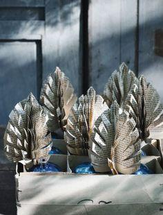 Sweet Paul's Paper Pinecones #sweetpaulholiday