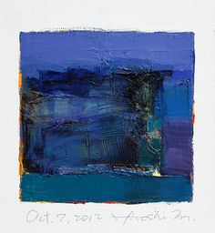 Oct 7 2012 Original Abstract Oil Painting by hiroshimatsumoto, $60.00