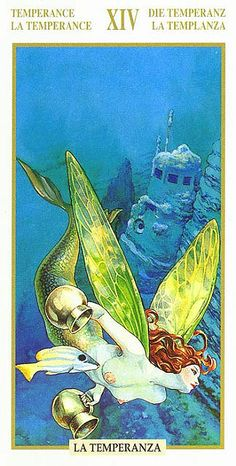 Temperance - Tarot of the Hidden Folk