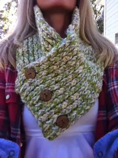 This Moment is Good!: LOOM KNIT COWL/SCARF