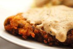 chicken-fried steak from the homesick texan. this is making me a homesick texan!