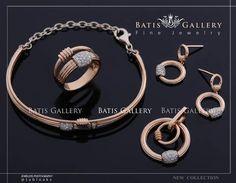 """좋아요 1,733개, 댓글 7개 - Instagram의 جواهرى باتیس(@batisgallery)님: """"Luxe Brilliant Set Earring - Pendant - Ring & Bracelet Rose Gold Price ~ 7/500 million Code : N…"""""""