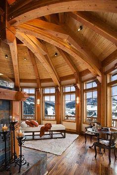 MossCreek Designs Beautiful Timber Frame Work Hello :).  Amazing stuff.
