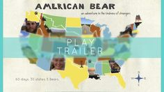 American Bear, a film by NYU graduates Sarah Sellman and Greg Grano, is a project that critically explores American culture, compassion, and fear. The filmmakers graveled through 30 states in 60 days, and spent every day in a new town, examining how the American identity is defined. Check out the amazing film at their Squarespace site!