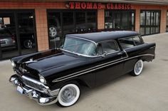 1956 Chevrolet Bel-Air Nomad Station Wagon.