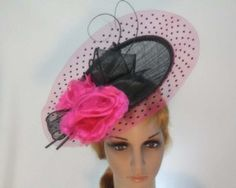 Black Fuchsia hat Melbourne Cup Ascot Kentucky Derby buy online