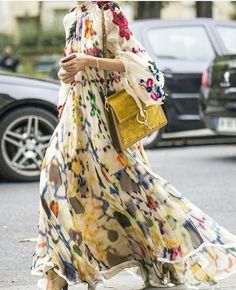 Product Retro lapel long-sleeve printed chiffon Maxi Dress Brand Name Jugap SKU Gender Women Style Elegant/Sexy/Fashion Type Maxi Dresses Material Polyester Decoration Printing Please Note:All dimensions are measured manually with a deviation of 1 to Chifon Dress, Chiffon Maxi Dress, Maxi Dress With Sleeves, Long Sleeve Maxi, Maxi Dresses, Wrap Dresses, Dress Outfits, Image Fashion, Look Fashion