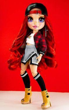 Dc Superhero Girls Dolls, Instagram Bio Quotes, America Girl, Rainbow Fashion, Barbie Fashionista, Bratz Doll, Lol Dolls, Pretty Dolls, Rainbow Colors