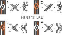 Basic knots. Friendship Bracelets. Bracelet Patterns. How to make bracelets