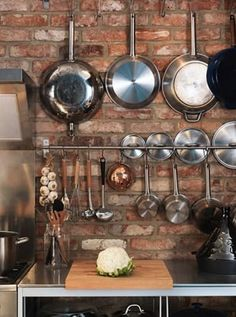9 Easy Ways to Make a Small Kitchen Feel Bigger via @PureWow