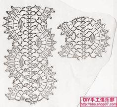 Una rosa realizada con hermosa puntilla   Crochet y dos agujas