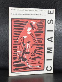 Revue de l'art Actuel # CIMAISE 2, Lapoujade # Janvier 1953, mint-