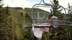 I've always wanted a picture like this on my wedding day #beavercreek #wedding #mountain