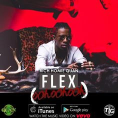 Available now on #iTunes #googleplay and music video on #vevo #richhomiequan #flex #rhq