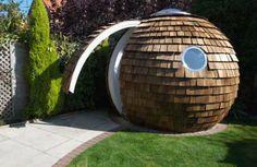 Archipod, Energy efficient, Eco-Friendly Garden Office