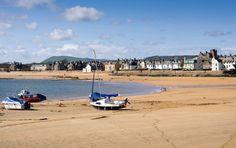 Looking towards Elie, Fife Scotland.