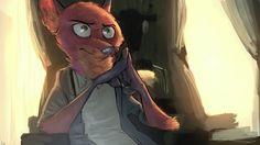 Musings of a Lynx Zootopia Fanart, Zootopia Comic, Disney Zootropolis, Disney Stuff, Zootopia 2016, Zootopia Nick And Judy, The Great Mouse Detective, Detective Shows, Nick Wilde