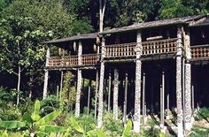 Sarawak long houses a fun place to stay