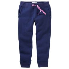 Girls 4-12 OshKosh B'gosh® Solid Knit Pants, Size: 6X, Med Blue