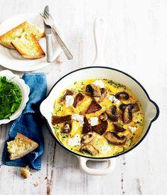 Mushroom & Herb Omelette...