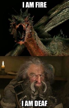 "And here's Óin's interpretation. | 21 Pictures Only ""The Hobbit"" Fans Will Think Are Funny"