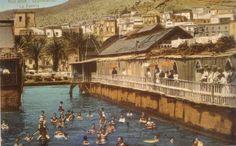 Alicante antiguo. Los baños