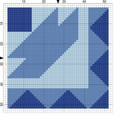 Ships-of-Maine-Needlepoint-Quilt-Block-Coaster-Pattern.png - © Althea DeBrule - Licensed to About.com