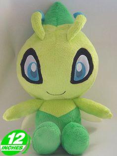 Pokemon Celebi Plush Doll 12 inches PNPL9075   eBay $7.90