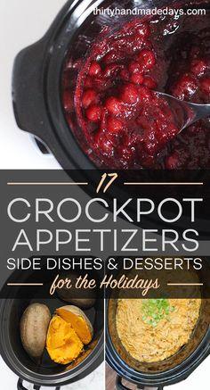 17 Crockpot Appetize