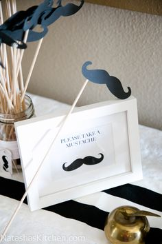 """Welcoming Tanya's """"Little Man""""; Baby Shower Menu and Decor"""