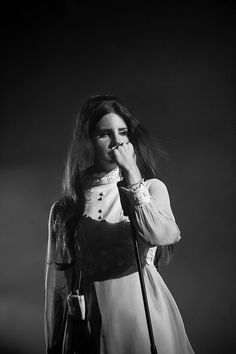 ((Lana Del Rey)) Hi.. My name is Lana. I am very quiet and mysterious. Music and art are my two favorite things. You can introduce yourself to me. I don't bite..