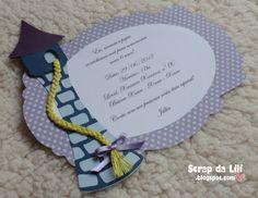 Convite Rapunzel / Enrolados