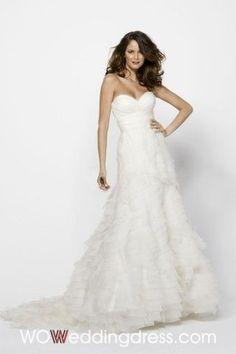 Cheap Modest Trumpet/Mermaid Ruffled Tiered Wedding Dress - the Best Wedding Dresses Wholesale and Retail Online Store