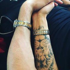 @sashakabaeva_official #liontattoos #liontattoo #tattoo #tattoos