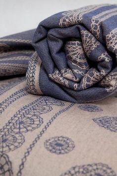 Lenny Lamb Blueberry Lace Wrap (cotton)