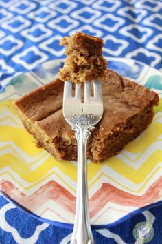 Healthy Snacking Pumpkin Bars.