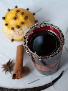Glühwein – Spiced Austrian & German Christmas Mulled Wine by @Helene Dsouza of MasalaHerb.com