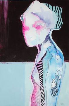 by Anna Matykiewicz.  Painting: Acrylic, Watercolor and Ink