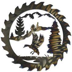 Mallard Saw Blade Metal Wall Art | Wild Wings