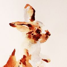 custom bunny paintings by East Witching