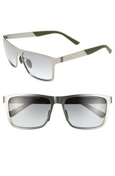 Men's Gucci 57mm Sunglasses