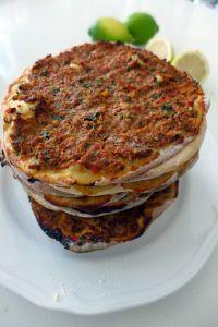 Lahmajoun - Armenian Flatbreads with Meat